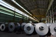 トランプ氏の決定により、ブラジルの鉄鋼産業への影響が懸念されている(ウジミナスの製鉄所、ミナスジェライス州)
