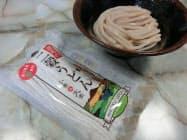 香川県産の小麦と大麦を組み合わせた