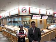 スシローは横浜の商業施設に回転レーンのない店舗を初出店する