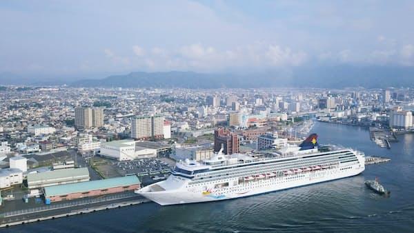 清水港クルーズ拠点、香港社整備 静岡県と協定へ