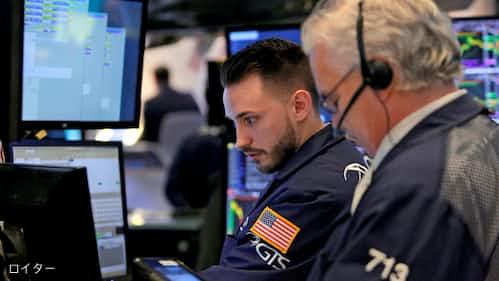 米国株、ダウ急反落し335ドル安 フェイスブック急落でハイテク株に売り