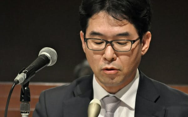 「リフレ派」の片岡審議委員ですら、大胆な発言を控えた(3月1日、岡山市)