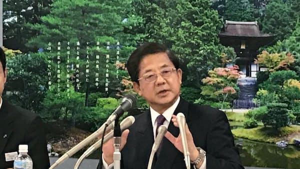 JR東海の柘植社長「若手の使命感印象に」最後の定例会見