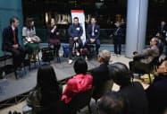 ベンチャーカフェは毎週木曜日に起業家らが集うイベントを開く