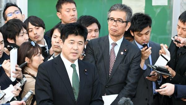籠池被告、昭恵氏発言「間違いない」 野党議員が接見