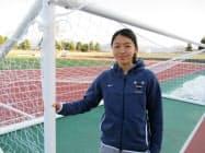 U-17の日本代表経験を持つ根津さんは競技だけでなく、学業でも米国の大学に関心を寄せる