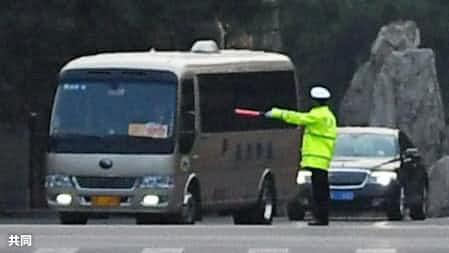 北朝鮮要人が訪中か 北京の外交施設、厳戒