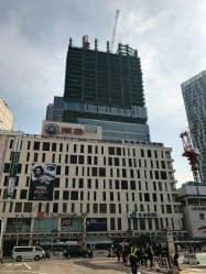 渋谷駅周辺は「渋谷スクランブルスクエア」など大型再開発が目白押し(27日、東京都渋谷区)