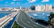 拡幅して3車線化する江の島大橋は19年夏に利用できるようになる