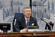田村社長は記者会見で「ジェネリックは規模で戦う時代」と語った