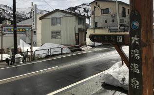 光ファイバーの整備がこれから始まる(新潟県魚沼市)
