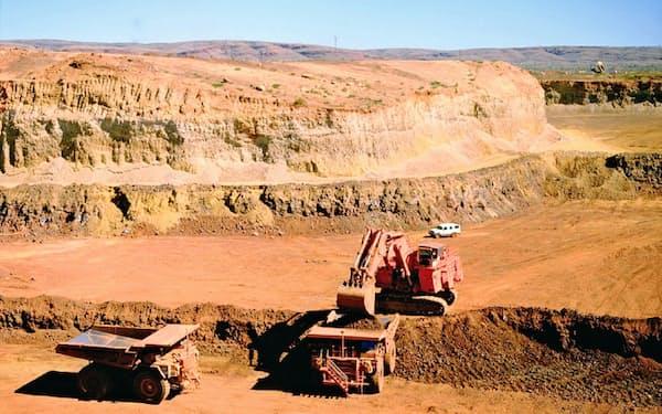 三井物産は資源価格の高止まりが収益改善の追い風になっている(豪州の鉄鉱石鉱山)
