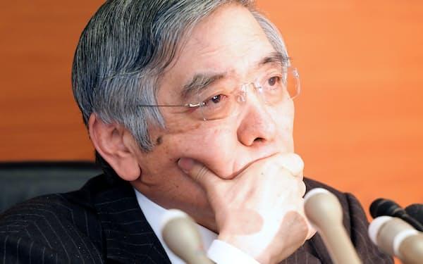 黒田総裁には難路が待ち受ける