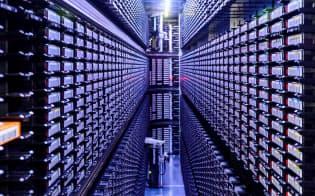 米グーグルのデータセンター