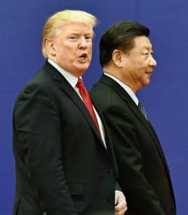 1300品目に及ぶ制裁関税を米が発動すれば貿易摩擦が一段と激しくなる=共同