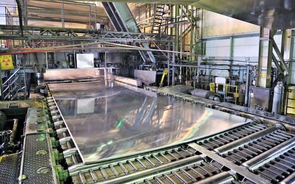 UACJの製造拠点