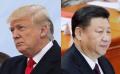 中国の習近平国家主席(右)とトランプ米大統領=AP
