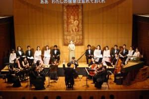 「ディドとエネアス」を野外オペラで取り上げる(3月、演奏会形式での公演の様子)