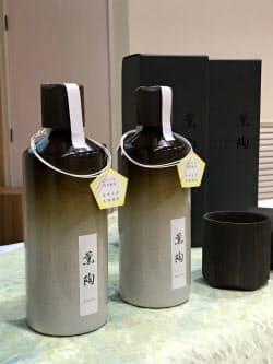 宮崎大学が醸造した本格焼酎「薫陶」