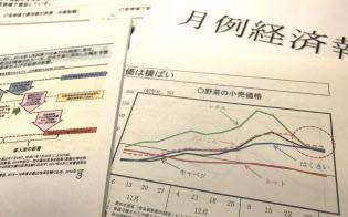 内閣府の公表資料では、視覚に訴えるグラフが増えている