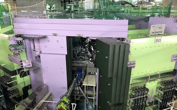 ウラン原子も加速,衝突実験ができる超電導リングサイクロトロン(埼玉県和光市)