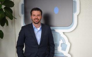 米データロボットのジェレミー・アシン最高経営責任者(6日、都内)