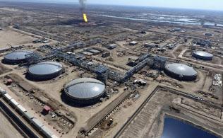 西クルナ1油田は世界有数の埋蔵量がある=AP