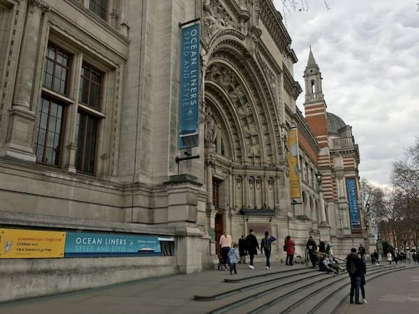 大西洋航路を再現する特別展を始めたビクトリア・アンド・アルバート博物館