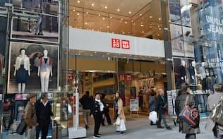 ユニクロの国内既存店売上高は前年を上回るペース