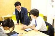 コンパスはAIを使った教材を学習塾や通信教育で提供している