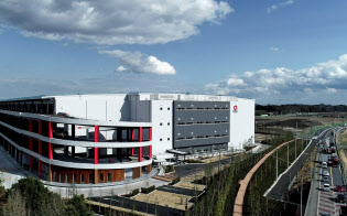 大和ハウス工業は圏央道沿いで物流施設を増やしている(千葉県流山市)