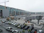 13日、報道陣に公開されたイスタンブールの新空港
