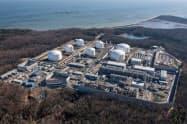 米メリーランド州の液化天然ガス(LNG)プラント
