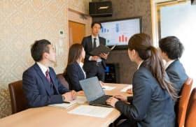第一興商のカラオケ「ビックエコー」では会議室やテレワーク用オフィスとして需要が増している