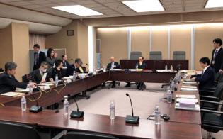 4月13日に開催された公正取引委員会の「携帯電話分野に関する意見交換会」