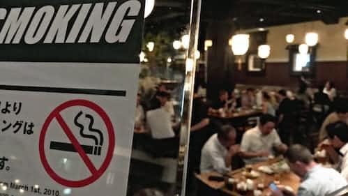 紫煙なき五輪へ 都のたばこ規制、国際レベルへ一歩