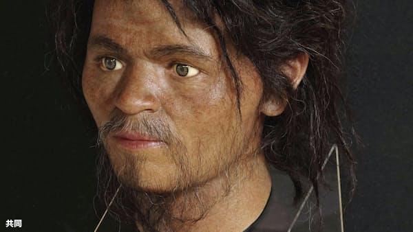 「国内最古の顔」公開 沖縄発見の人骨から復元
