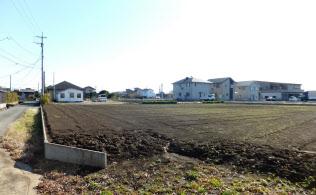 地方都市では郊外の住宅開発が止まらない(熊本市)