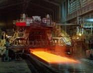 好況下だが設備トラブルの頻発で国内の粗鋼生産量は減少した(新日鉄住金の大分製鉄所)
