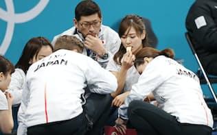 カーリング女子日本代表はハーフタイムの「もぐもぐタイム」や「そだねー」の掛け声で注目された