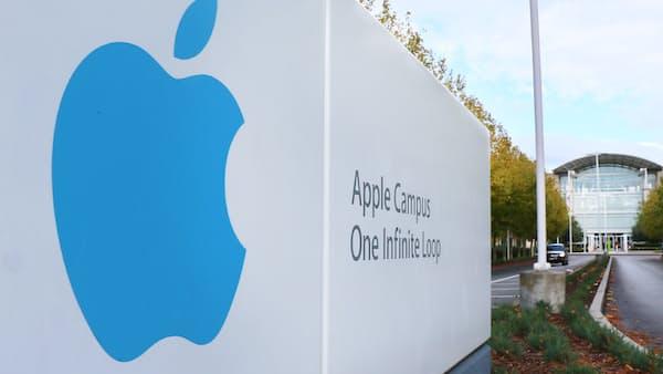 アップル時価総額1兆ドル突破 米企業初