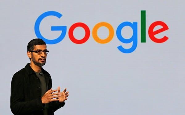 米グーグルのスンダル・ピチャイCEOはユーチューブの好調に満足げだが