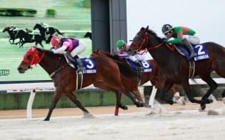2月16日には地元の重賞・梅見月杯をポルタディソーニで優勝=愛知県競馬組合提供
