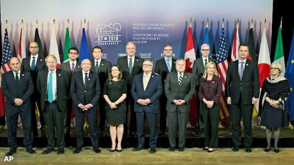 G7、対ロシアで温度差 北朝鮮は連携維持