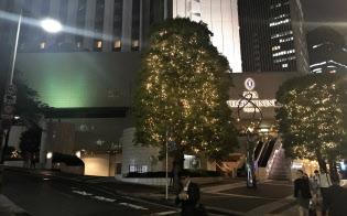 東京・赤坂のANAインターコンチネンタルホテル東京内の中国料理店で会食した