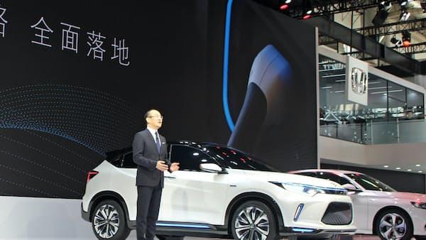 ホンダ、中国で電動20車種を発売 25年までに