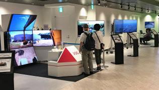 超高速大容量の通信技術を体感できる(東京スカイツリーの体験スポット「PLAY5G」)