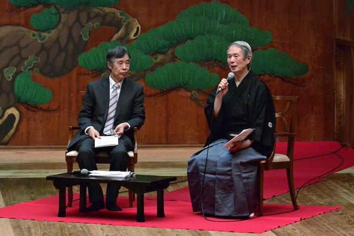 能を身近に 大槻文蔵、自主公演650回(もっと関西): 日本経済新聞