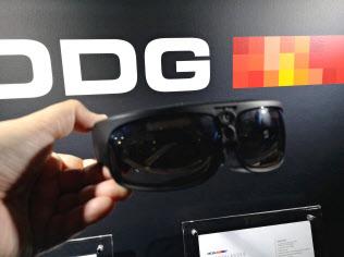 米ODGが開発したスマートグラス。単体で181グラムと軽量で装着しやすい