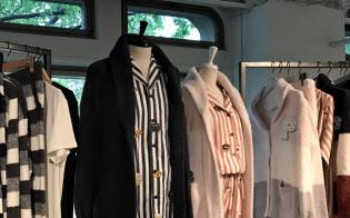 「ジェラートピケ」は男性向けのモコモコの衣服も多数取りそろえる